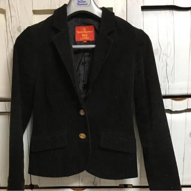 Vivienne Westwood(ヴィヴィアンウエストウッド)のvivienne   インポート コーデュロイジャケット レディースのジャケット/アウター(テーラードジャケット)の商品写真