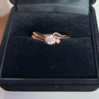 ダイヤモンド リング k18 (リング(指輪))