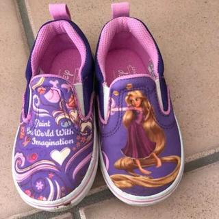 ヴァンズ(VANS)のラプンツェルの子ども靴 15センチ(スニーカー)