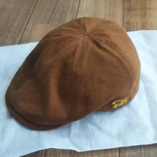 ステュディオダルチザン(STUDIO D'ARTISAN)のハンチング ブラウン(ハンチング/ベレー帽)