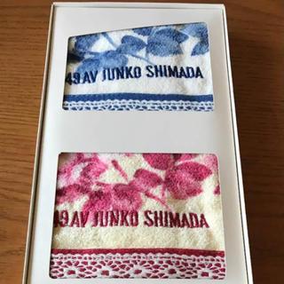 ジュンコシマダ(JUNKO SHIMADA)のジュンコシマダ ハンドタオル 2枚セット(タオル/バス用品)