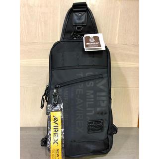 アヴィレックス(AVIREX)のAVIREX ボディーバッグ ボディバッグ AVX591 定価 約7000円(ボディーバッグ)