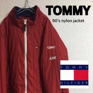 トミー(TOMMY)の古着 TOMMY 90's ナイロン ジャケット(ナイロンジャケット)