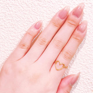 エナソルーナ(Enasoluna)のEnasoluna❤︎ハートチェーンリング(リング(指輪))