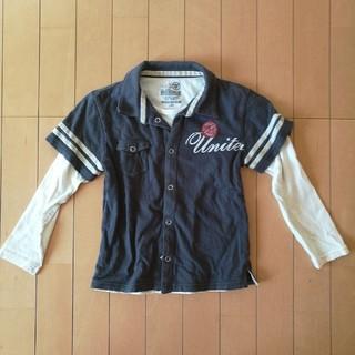 イッカ(ikka)の長袖Tシャツ120 レイヤード風(Tシャツ/カットソー)