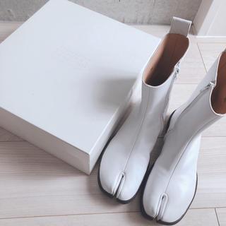 マルタンマルジェラ(Maison Martin Margiela)のMAISON MARGIELA 足袋 tabi 2017 モデル 新品未使用(ブーツ)