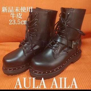 アウラアイラ(AULA AILA)の【smile様専用】 AULA AILA レースアップ ブーツ(ブーツ)