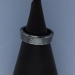 スリナム共和国 25セント コインリング(リング(指輪))