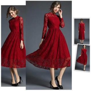 ザラ(ZARA)のドレス 美品(ミディアムドレス)