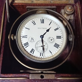 ウォルサム(Waltham)のWALTHAM 8日巻き デッキウォッチ(腕時計(アナログ))