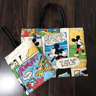 ディズニー(Disney)の☆レッスンバッグ&シューズ入れ☆(バッグ/レッスンバッグ)
