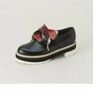 バーバリーブルーレーベル(BURBERRY BLUE LABEL)の新品 クレストブリッジ レースアップシューズ(ローファー/革靴)