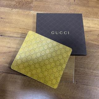 グッチ(Gucci)のグッチ GUCCI マウスパッド  イエローベージュ 新品未使用(トートバッグ)