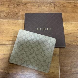 グッチ(Gucci)のGUCCI グッチ マウスパッド  グレー 新品未使用(その他)
