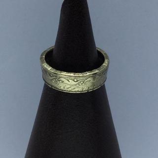 ウクライナ 25コピーイカ コインリング(リング(指輪))