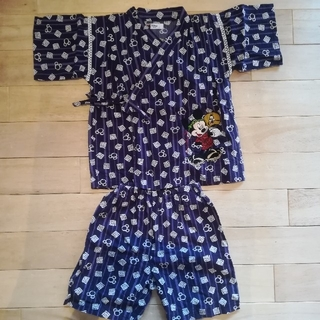 ディズニー(Disney)の★☆甚平 男の子 110センチ ミッキー ディズニー☆★(甚平/浴衣)