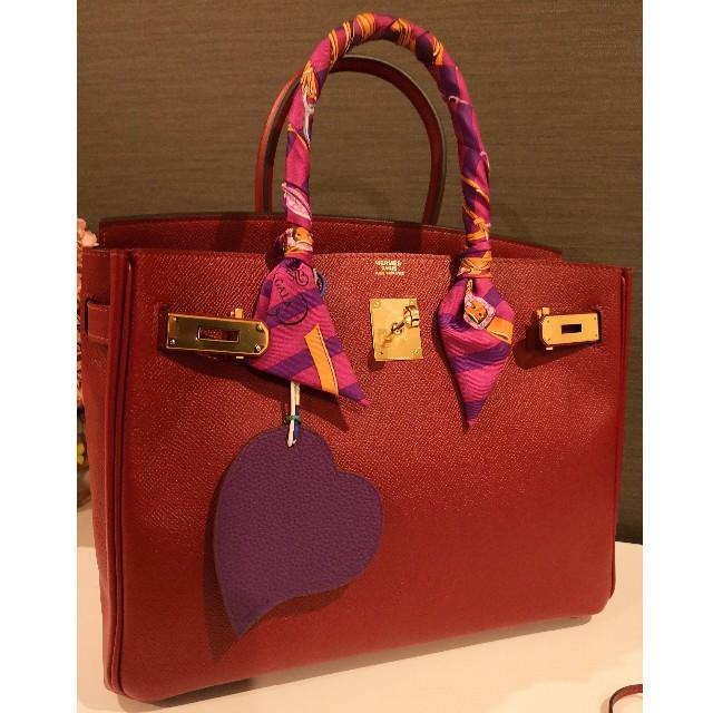 Hermes(エルメス)の新品同様♥️希少HERMES バーキン30 ルージュグレナ レディースのバッグ(ハンドバッグ)の商品写真