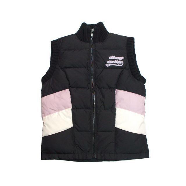 DKNY WOMEN(ダナキャランニューヨークウィメン)のセール DKNY ダナキャラン ニューヨーク ダウンベスト ブラック レディースのジャケット/アウター(ダウンベスト)の商品写真