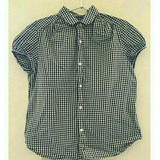 スモックショップ(THE SMOCK SHOP)のTHE SMOCK SHOP ギンガムチェックシャツ(シャツ/ブラウス(半袖/袖なし))