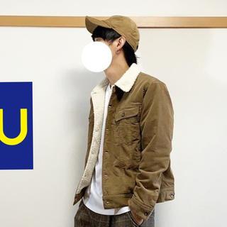 ジーユー(GU)のgu ボアジャケット(Gジャン/デニムジャケット)