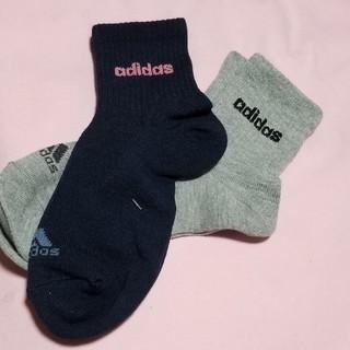 アディダス(adidas)の女児 adidas 靴下2足セット(靴下/タイツ)