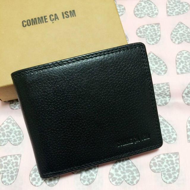 bbee956dc5dc COMME CA ISM(コムサイズム)のコムサ イズム 二つ折り財布 レディースのファッション小物