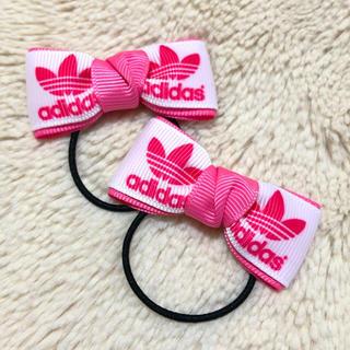 アディダス(adidas)のぽちぇ様 専用ページ(ヘアピン)