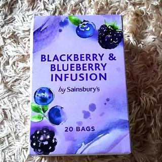 【英国購入品】Sainsburys ブルーベリー&ブラックベリー 紅茶(茶)