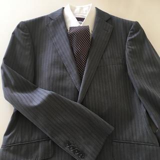 アオヤマ(青山)の洋服の青山 メンズスーツ グレー系(セットアップ)