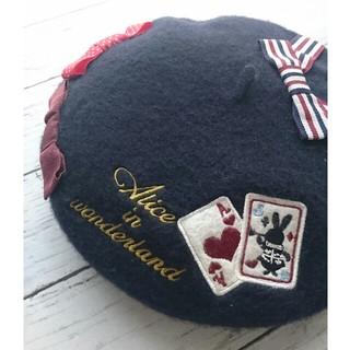 スイマー(SWIMMER)のお値下げ♪SWIMMER スイマーベレー帽  不思議の国のアリス(ハンチング/ベレー帽)