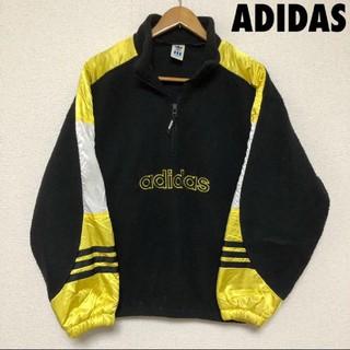 アディダス(adidas)の4011 ADIDAS アディダス フリース  プルオーバー アノラック(ニット/セーター)