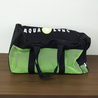 アクアラング(Aqua Lung)の美品 AQUA LUNG アクアラング メッシュ バッグ スキューバ ダイビン(マリン/スイミング)