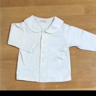 ベベ(BeBe)のbe be べべコットンシャツ80センチ(シャツ/カットソー)