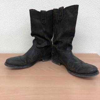 コーズ(CAUSE)のCAUSE コーズ エンジニア ブーツ 42 ダーク ブラウン 27.0cm(ブーツ)