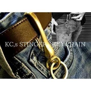 ケイシイズ(KC,s)のケイシイズ【ゴールド】スティンガーキーリングキーチェーン(キーホルダー)