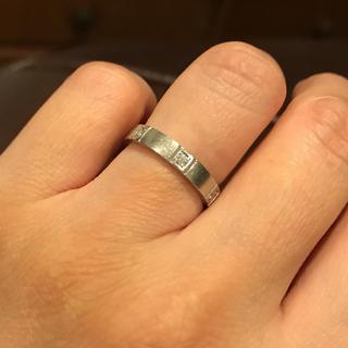 ニナリッチ(NINA RICCI)のNina Ricci pt900 ダイヤモンドリング(リング(指輪))