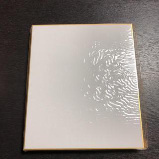 色紙 画仙金縁 小サイズ 10枚セット 新品未使用(スケッチブック/用紙)