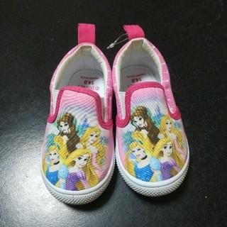 ディズニー(Disney)のディズニープリンセス スリッポン 靴(スリッポン)