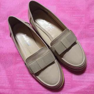 リボンローファー(ローファー/革靴)