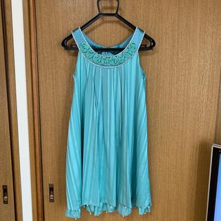 ヤマゼン(山善)のワンピース ドレス(ミディアムドレス)
