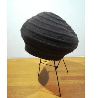 マリクレール(Marie Claire)の ベレー帽 茶(ハンチング/ベレー帽)