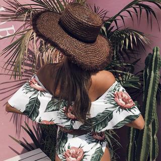 ルームサンマルロクコンテンポラリー(room306 CONTEMPORARY)のroom306 CONTEMPORDRY❤︎さのまいちゃん愛用HAT(麦わら帽子/ストローハット)