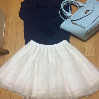 マーキュリーデュオ(MERCURYDUO)のマーキュリー♡オーガンジー スカート(ミニスカート)