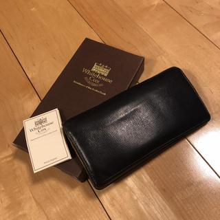 ホワイトハウスコックス(WHITEHOUSE COX)のホワイトハウスコックス  長財布 S1247 REGENT ネイビー×イエロー(長財布)