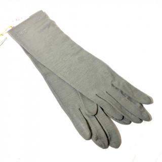 クロエ(Chloe)の新品 グレー ストーン アームカバー 春夏秋冬 手袋(手袋)