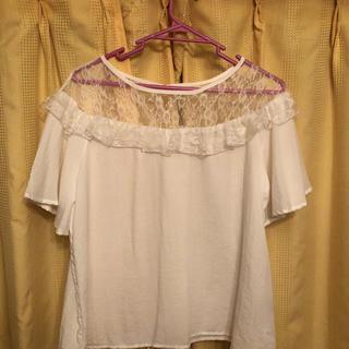 シマムラ(しまむら)のシースルー トップス(シャツ/ブラウス(半袖/袖なし))