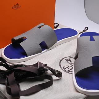 エルメス(Hermes)のエルメス イズミール サンダル スリッパ 靴 超希少品 色 廃盤 正規 44 (サンダル)