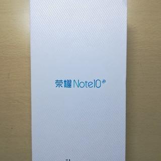 アンドロイド(ANDROID)の【銀翼さん専用】Honor note 10(スマートフォン本体)