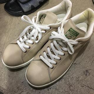 アディダス(adidas)のスタンスミス ベージュ44 28.5(スニーカー)