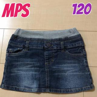 エムピーエス(MPS)のMPS デニムスカート 120 女の子(スカート)